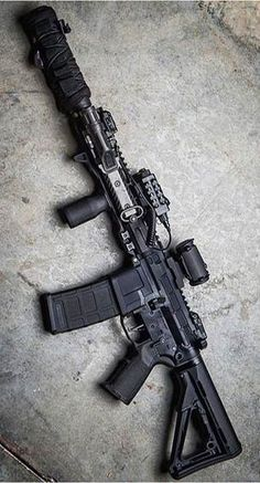 Build Your Dream Custom Assault Rifle – Custom AR. Build Your Sick Cool Custom Assault Rifle Firearm With This Web Interactive Firearm Builder with ALL the Industry Parts - See it yourself before you buy any parts Airsoft Guns, Weapons Guns, Guns And Ammo, Zombie Weapons, Armas Airsoft, Armas Wallpaper, Custom Guns, Custom Ar15, Ar 15 Builds