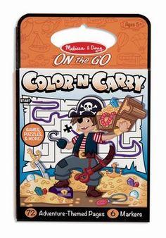 Melissa & Doug On the Go Color-N-Carry (5391) - Adventure