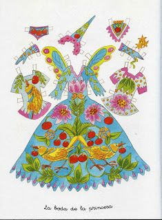 Flores & Mimos: Fadas: Vestidos para recortar.