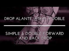 DROP ALANTE, DROP ATRÁS Y DROP DOBLE. PASOS BÁSICOS. DANZA DEL VIENTRE. TRIBAL FUSION. - YouTube