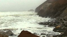 """Sleep Sounds"" Stormy Sea 60mins ""Natural Sound and Video"""