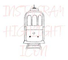 Lisbon Portugal Tram Instagram Icon by Masters of Instagram on @creativemarket Lisbon Tram, Lisbon Portugal, Get Instagram, Instagram Story, Email Templates, Story Highlights, Studio Ghibli, Brand You, Masters