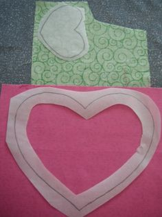 think this is the best tutorial yet, because it shows you how to remove the center of the fusible, thereby making a SOFTER applique. Applique Stitches, Raw Edge Applique, Reverse Applique, Hand Applique, Applique Embroidery Designs, Machine Embroidery Applique, Applique Patterns, Applique Quilts, Sewing Patterns