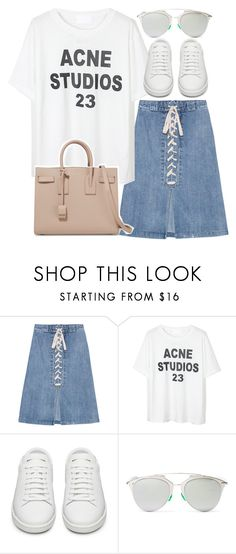 """""""Untitled #3050"""" by elenaday on Polyvore featuring Sea, New York, Yves Saint Laurent and Christian Dior"""
