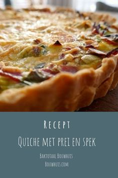 Slow Cooker Recipes, Low Carb Recipes, Healthy Recipes, Quiche Recipes, Banana Bread Recipes, Quick Easy Meals, Easy Dinner Recipes, Tarte Tartin, Brunch