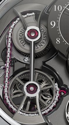 Luxury Watches For Mens Picture Description Romain Gauthier Ruby Chain and Snail Constant Force System - Amazing Watches, Beautiful Watches, Cool Watches, Rolex Watches, Dream Watches, Fine Watches, Stylish Watches, Luxury Watches For Men, Bell Ross