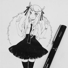so its #inktober and Im sure I wont draw for it everyday but its always some reason to doodle XD
