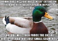After submitting a post yesterday about YouTube buffering issues, a kind anon told me about YouTube Center. - Imgur