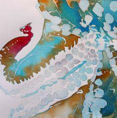 Octopus watercolor 7.5 x 7.5 2014