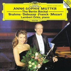 Anne-Sophie Mutter - The Berlin Recital by Anne-Sophie Mutter [Violin], Lambert Orkis [Piano] (1997) Audio CD Deutsche Grammophon http://www.amazon.ca/dp/B00FY3CE2A/ref=cm_sw_r_pi_dp_Qw2bwb1E6PDDJ