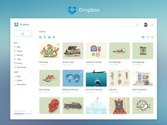 Hi everyone,    Had some spare time and i redesigned the dropbox dashboard. I used blue and white only to give a clear outfit of actual Dropbox  Let me know what you guys think about it.    Check ...