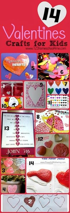 14 Valentines Day Crafts for Kids & TGIF