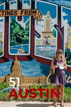 Laying liberal deep in the heart of Texas is the quirky city of Austin. On doughnuts, BBQ, music fests, and many other unique + fun things to do in Austin! @visitaustintx