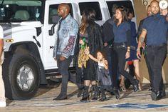 La famille Kardashianà la soirée d'anniversaire de Rob Kardashian Jr. au restaurant Nobu à Malibu, le 17 mars 2016.