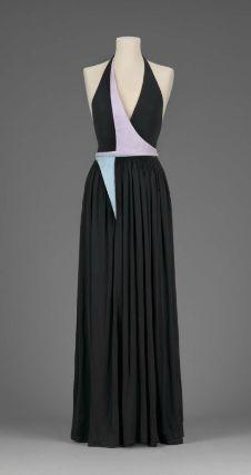 Woman's evening dress, designed by Geoffrey Beene, 2001. Museum of Fine Arts, Boston.