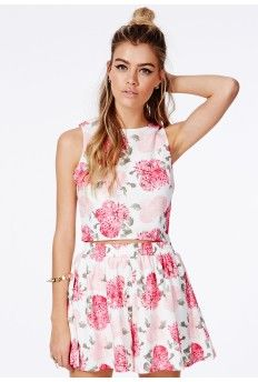 Trinette Floral Boxy Top