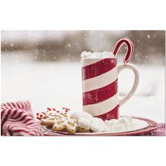 """Laminated Christmas Placemat 11 x 17"""""""