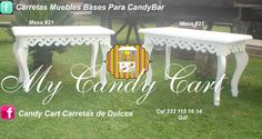 Mueble #21 My Candy Cart Guadalajara Jalisco México Visitanos en FB Candy Cart Carretas de Dulces