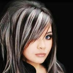 Hair with Blonde Highlights Hairstyles In 2020 14 Wonderful Brunette Hairstyles with Blonde Highlights Of 88 Awesome Hair with Blonde Highlights Hairstyles In 2020 Dark Brown Hair With Blonde Highlights, Hair Highlights, Highlights 2014, Grey Hair On Dark Skin, Gray Hair, Medium Hair Cuts, Medium Hair Styles, Long Layered Hair, Cool Hairstyles