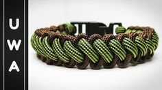How to make the Bootlace Paracord Survival Bracelet With Buckle (Curling...