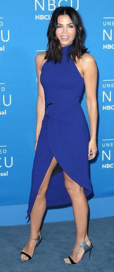 Jenna Dewan Tatum in David Koma attends the 2017 NBCUniversal Upfronts in NYC. #bestdressed