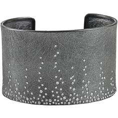 TODD REED Burnished cuff found on Polyvore