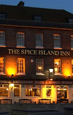 The Spice Island Inn at Old Portsmouth. Island Inn, Portsmouth, Hampshire, United Kingdom, Spice, Coast, England, Mansions, House Styles