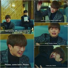 Then He takes back the credit card😂😂😂 Quotes Drama Korea, Korean Drama Quotes, K Drama, Drama Fever, Korean Celebrities, Korean Actors, Korean Dramas, Movie Memes, Funny Memes