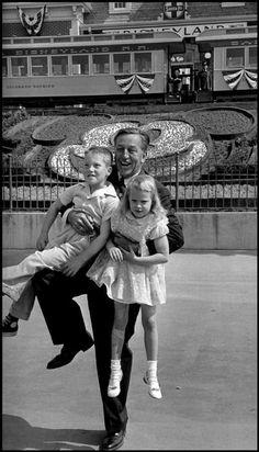 Disneyland opening day 1955