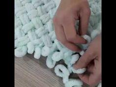Alize Puffy iki renk ve ip ekleme nasıl yapılır? bebek battaniyesi-baştan sona anlatım - YouTube