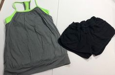 2 Piece Ivivva Lot Tank And Shorts Size 14 Size 14, Kids Outfits, Gym Shorts Womens, Clothes, Ebay, Fashion, Outfits, Fashion Styles, Clothing Apparel