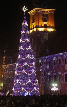 Warsaw, Poland at #Christmas. Check out Mamaison Hotel Le Regina if you plan your vacation in our beautiful city. :)