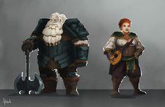 Dwarves by Artsed.deviantart.com on @DeviantArt