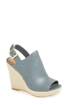 672700927b41 Steve Madden  Corizon  Wedge Sandal Leather Wedge Sandals