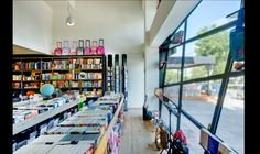 MOUSE your bookstore renovation store Nea Kifissia Athens Greece, Showroom, Restaurant, Store, Building, Projects, Home Decor, Log Projects, Blue Prints