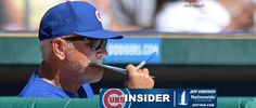 """Why Joe Maddon doesn't need an iPad in Cubs dugout MESA, Ariz. - Joe Maddon snapped his fingers, a reminder about the rhythm of the game and how you need to have a feel for the moment that can't be found on an iPad in the dugout. """"That's why I have that card in my back pocket,"""" Maddon said. It's always ... http://www.csnchicago.com/cubs/why-joe-maddon-doesnt-need-ipad-cubs-dugout"""