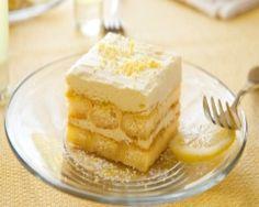 Tiramisu au citron (facile, rapide) - Une recette CuisineAZ