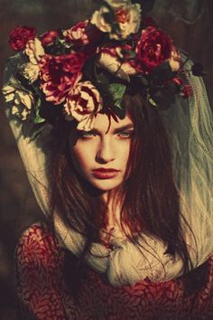 Flowery Headress
