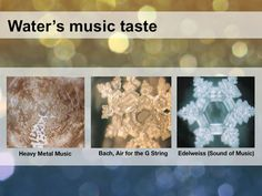 In The Hidden Messages in Water, Dr. Masaru Emoto conducted water crystal experiments to show that structure of water crystals could be affected by positivity or negativity of thoughts and speeches.  Some people write healing and positive phrases on their water bottles.