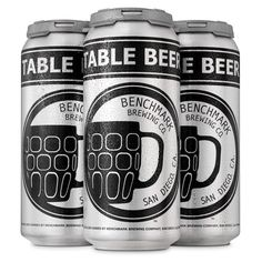 I got Table Beer by Benchmark Brewing Co.! Quiz: Which San Diego Craft Beer Are You?