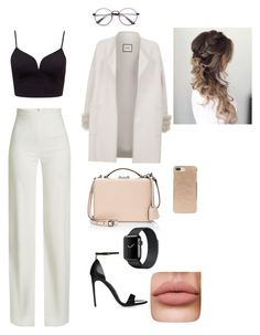 """👩🏻‍💻"" by isidora-mary on Polyvore featuring Max & Moi, Brandon Maxwell, Mark Cross and Kate Spade"
