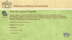 Sala de Lectura Tsopelik en la Biblioteca Pública Universitaria UASLP