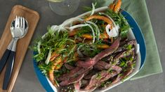 Foto: Marika Hill / Five Corners Production Frisk, Food Inspiration, Asparagus, Grilling, Beef, Vegetables, Meat, Crickets, Veggies
