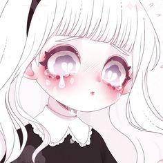 Kawaii Goth, Kawaii Chibi, Kawaii Anime Girl, Anime Chibi, Anime Art, Character Art, Character Design, Goth Art, Creepy Art