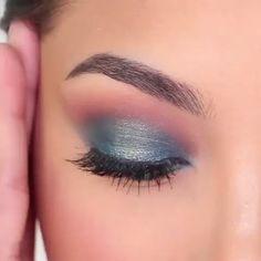 #EyelinerForBeginners Mermaid Eye Makeup, Mermaid Eyes, Purple Makeup, Glam Makeup, Beauty Makeup, Makeup With Blue Dress, Glamorous Makeup, Gorgeous Makeup, Makeup Geek