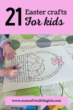 22 Easter crafts for kids, easy crafts for kids with an Easter theme that you can easily do at home with your kids. Easter baking, spring crafts and Easter trees. Everything you need for Easter decor! Egg Crafts, Bunny Crafts, Flower Crafts, Spring Crafts For Kids, Art For Kids, Baking Recipes For Kids, World Book Day Costumes, Felt Bunny, Step Kids
