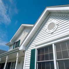 This Gable Vent looks real good with Lap Siding and is a Focal Point!   Very nautical!