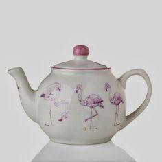 Flamingo teapot