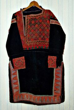 Khevsur Tunic, from Khevsureti, in North Georgia -Khevsureti is an historical-ethnographic region in eastern Georgia. The Khevsur are the branch of Kartvelian (Georgian) people located along both the northern and southern slopes of the Caucasus mountains.