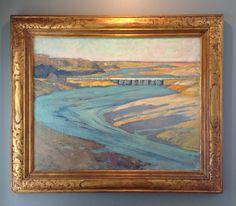 """Gertrude H. Fiske, """"Tide River""""."""